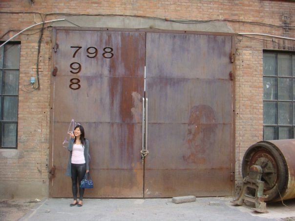 798 Art District is a collection of former military factories turned art studios and galleries.