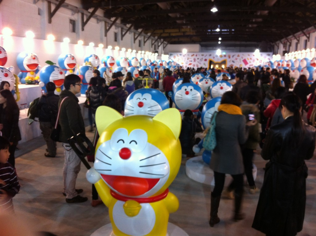 Taipei celebrate Doraemon's birthday (100 years ago).