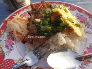 Vietnamese street food, com tam