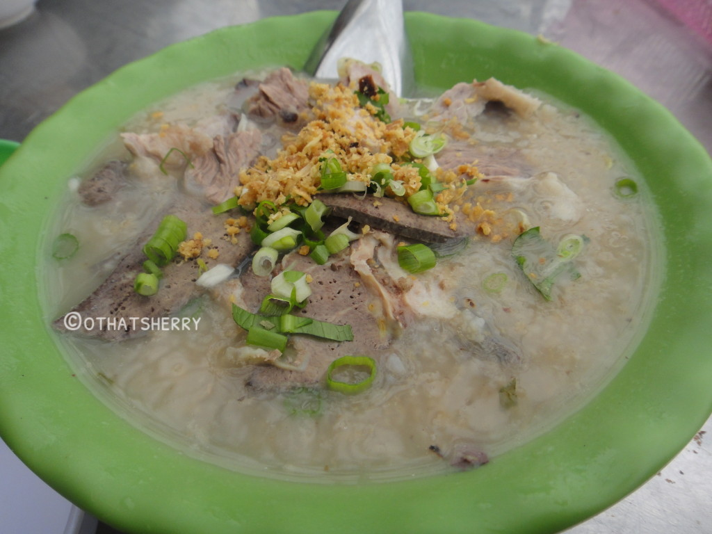 """zhou"" (Vietnamese version of Chinese porridge)"