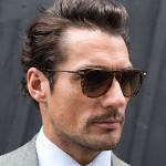 David Gandy, British model (image credit: Details)