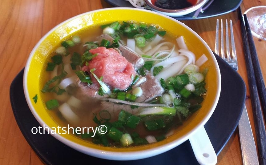 "Pho Bo_ In the words of Peta Mathias, author of Noodle Pillows, pho is ""Vietnam in a bowl, heaven in a spoon, culture in a sip."""