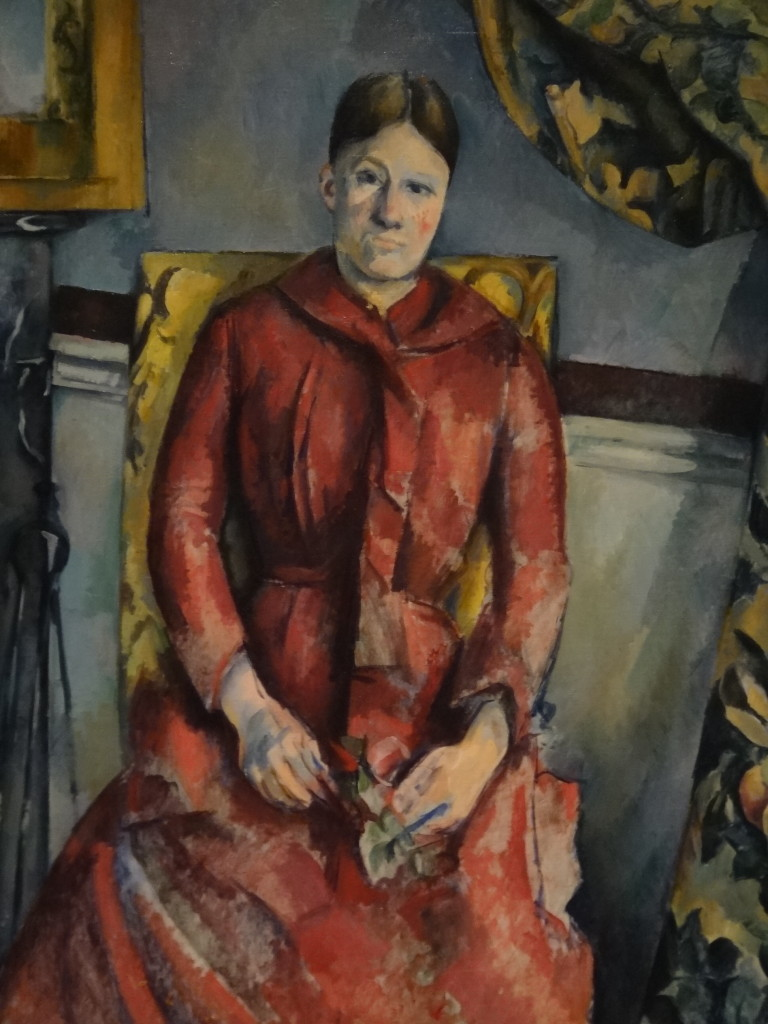"""Madame Cézanne"" (image credit: Metropolitan Museum of the Art)"
