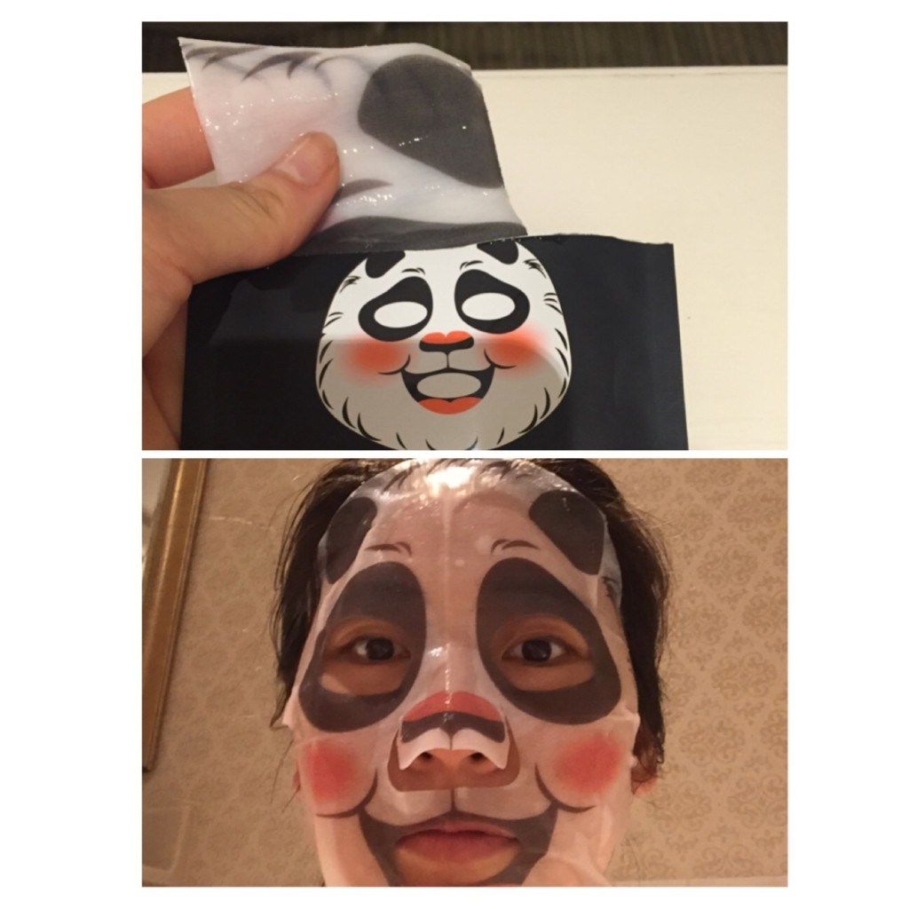Facial masks are great instant beautifier, add fun into your beauty routine with panda mask!